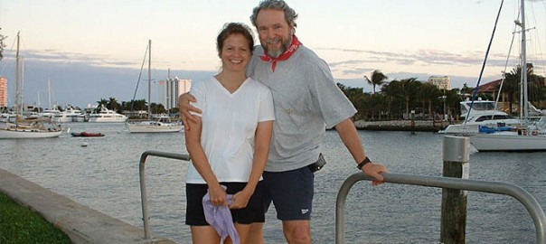 Bill Peterson and Julie Meek on our journey to reverse heart disease