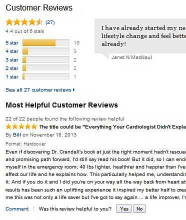 The Simple Heart Cure Amazon review