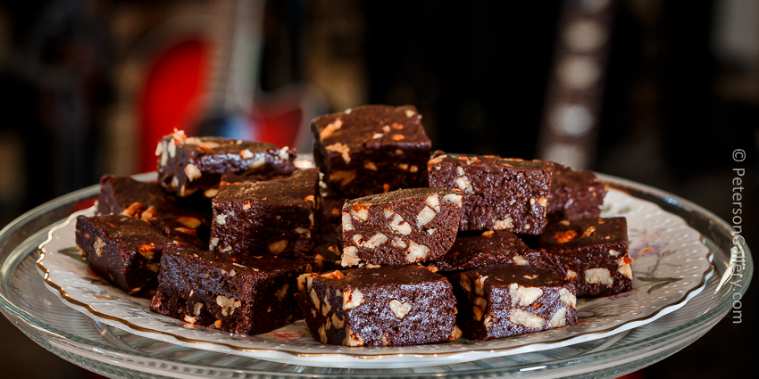Truly Amazing Raw Brownies