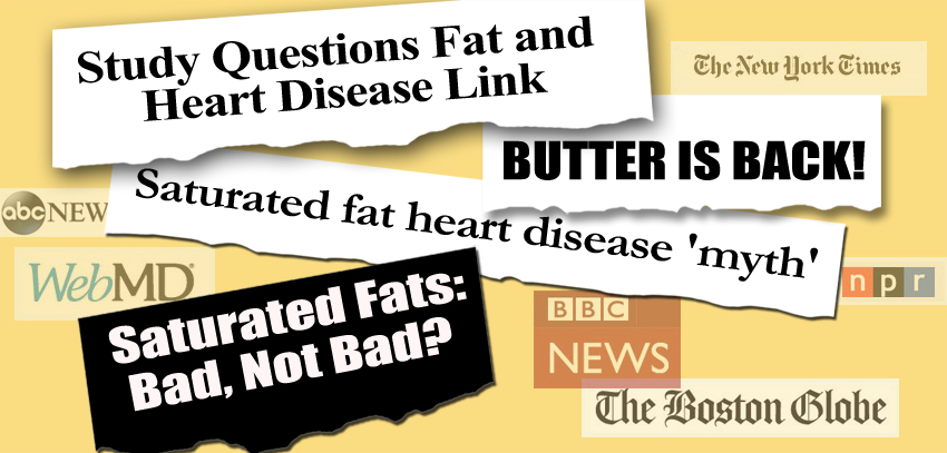 Saturated Fat Study Headlines Butter is Back