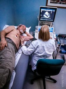 reverse heart disease echocardiogram