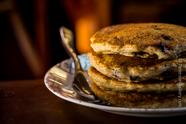 Spelt-Blueberry Pancakes fixitplan