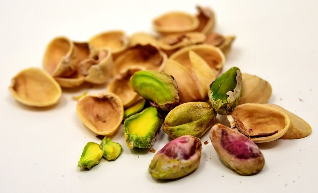 Pistachios for Pistachio Oat Squares Recipe